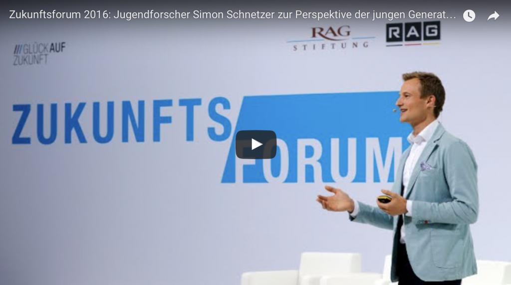 Simon Schnetzer Vortrag - Keynote #jungedeutsche
