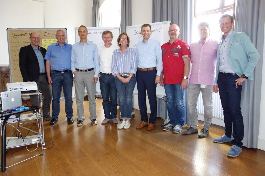 Generation Y Workshop - Schloss Lautrach - Gruppenfoto