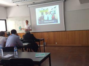 YEScowork - inspirational talk Simon Schnetzer