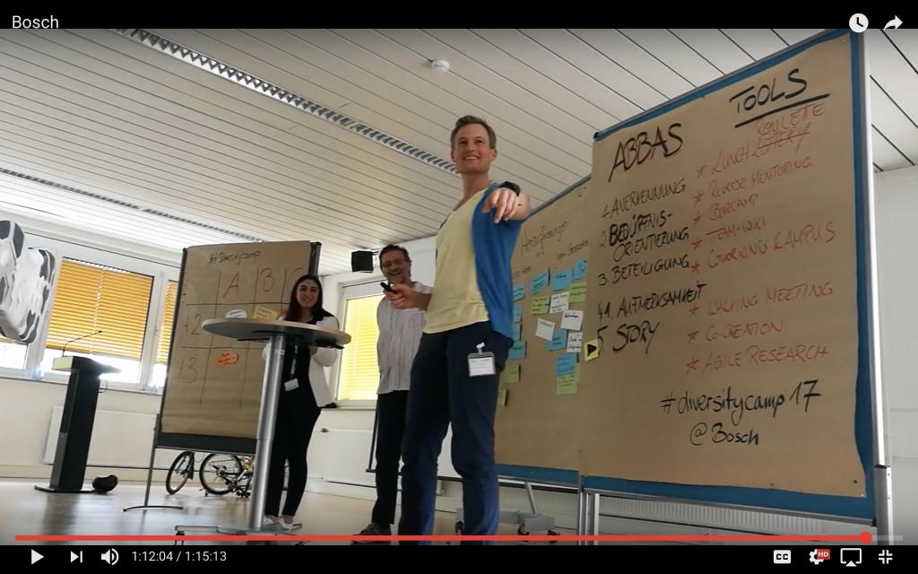 Keynote & Barcamp: mit Agilität Mitarbeiter begeistern